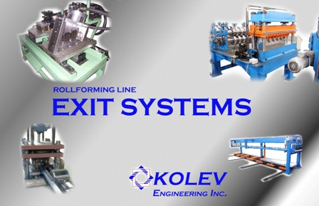 Roll Forming Exit Systems