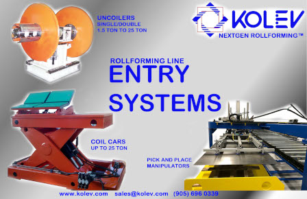 Roll Forming Entry Systems